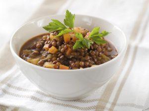 Sopa de Lentilhas com Gengibre (141kcal)