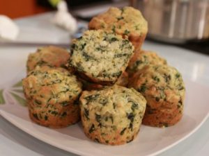 Muffins de Atum e Espinafres – 270Kcal