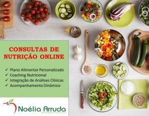 CONSULTAS DE NUTRIÇÃO ONLINE