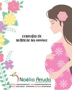 GRAVIDEZ – CONSULTAS DE NUTRIÇÃO ONLINE