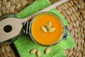 Sopa de Feijão branco com Abóbora