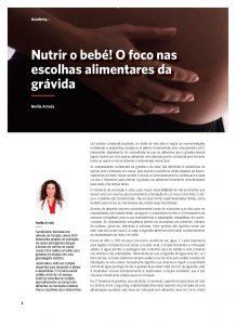 1º Nutrir o Bebé! Escolhas Alimentares!
