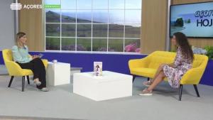 """Programa da RTP """"Açores hoje"""" entrevista sobre o meu Livro """"Manual para a Fertilidade, Gravidez e Amamentação"""""""
